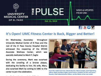 The Pulse: October 21