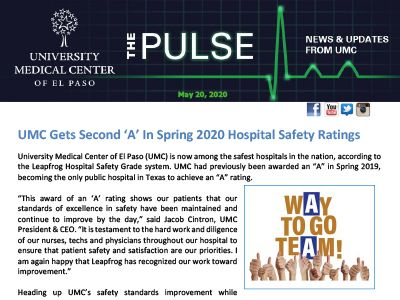 The Pulse: May 20