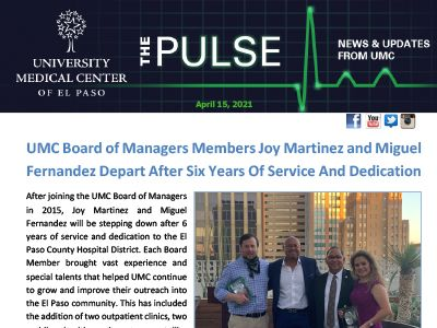 The Pulse: April 15